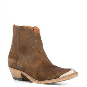 NEW Golden Goose Crosby Western ankle boots 7.5